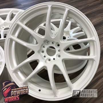Powder Coated Set Of Rims