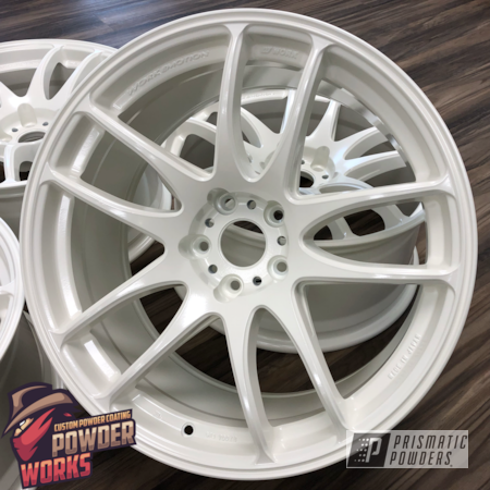 Powder Coating: Wheels,Automotive,Solid Tone,Diamond Pearl PMB-1857