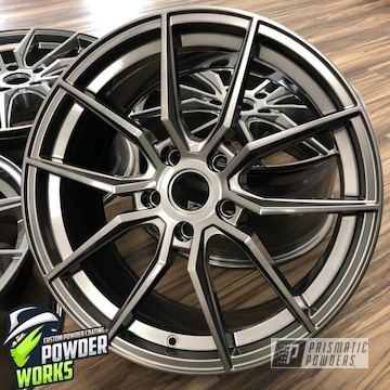 Powder Coated Custom Wheels