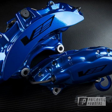 Powder Coated Cadillac Brembo Brake Calipers