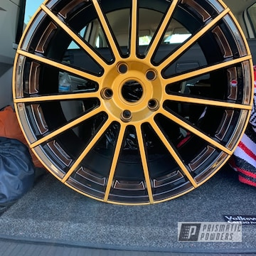 Powder Coated Custom Corvette Wheel