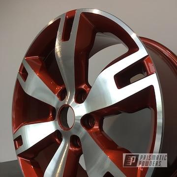 Powder Coated Custom 20 Inch Wheels