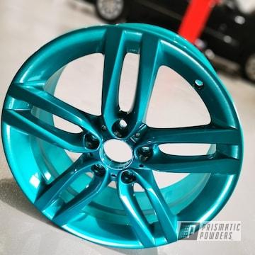 Powder Coated 19 Inch Aluminum Bmw Wheels