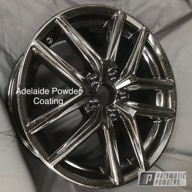 "Powder Coating: Wheels,18"",Jr Rockstar Sparkle PPB-6624,Automotive,Alloy Wheels,Clear Vision PPS-2974,18"" Wheel,Ink Black PSS-0106,18"" Wheels"