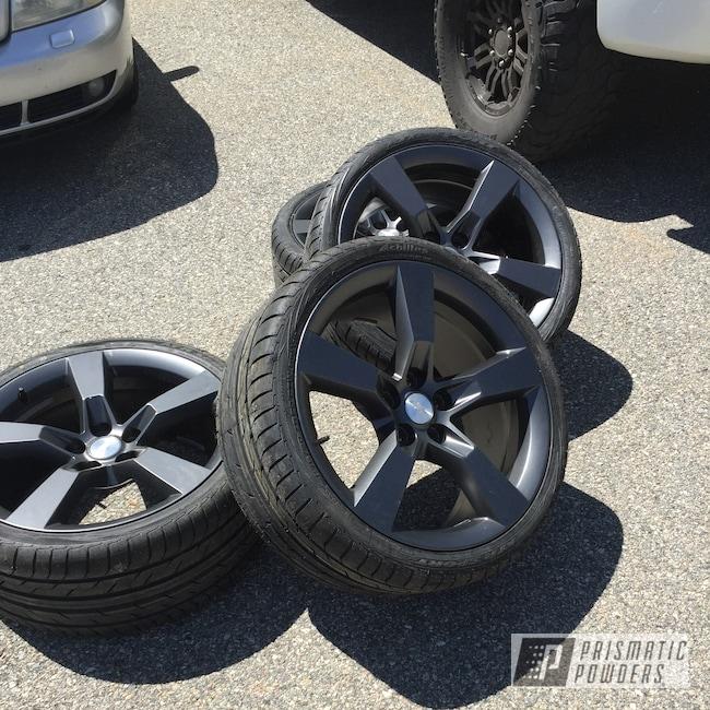 "Powder Coating: Wheels,Automotive,Evo Grey PMB-5969,SS,20"",20"" Aluminum Wheels"