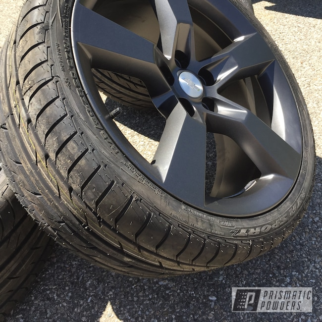 "Powder Coating: Wheels,Automotive,Evo Grey PMB-5969,SS,20"",20"" Aluminum Wheels"