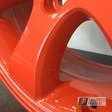 Powder Coated 17 Inch Toyota Rim