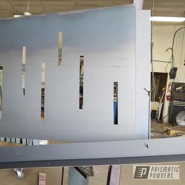Powder Coating: Casper Clear PPS-4005,Custom Sign,Metal Signs,Steel Sign
