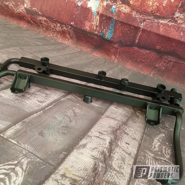 Powder Coating: Automotive,BLACK JACK USS-1522,Valve Covers,Fuel Rails,Automotive Parts
