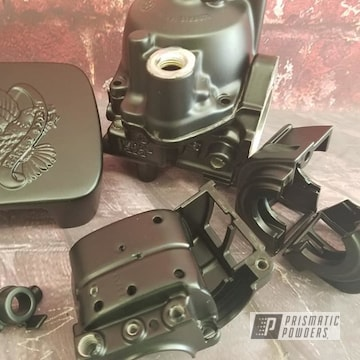 Powder Coated Harley Davidson Motorcycle Parts