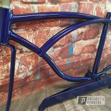 Powder Coated Vintage Schwinn Bike Frame
