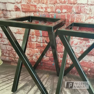 Powder Coated Table Ends