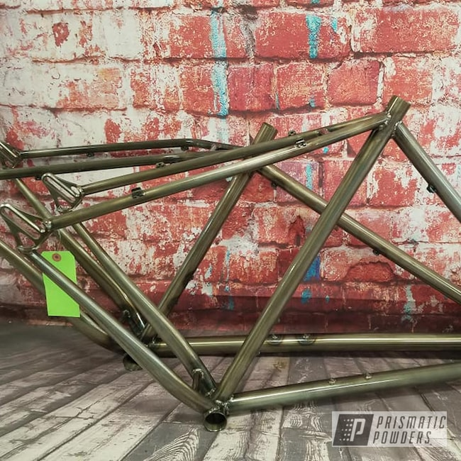 Powder Coating: Bicycles,Clear Vision PPS-2974,Bicycle Frame