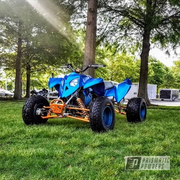 Powder Coated Atv Polaris Race Quad
