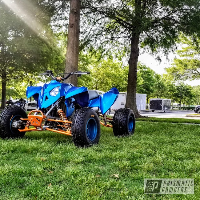 Powder Coating: Slammed,ATV,GLOSS BLACK USS-2603,Race Quad,Polaris,Hawaii Blue PPS-4483,Casper Clear PPS-4005,Stanced,Outlaw,Illusion Orange PMS-4620