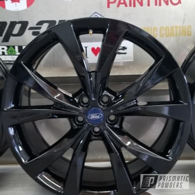 "Powder Coating: Wheels,Automotive,Ink Black PSS-0106,20"",20"" Aluminum Wheels,Ford"