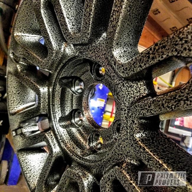 "Powder Coating: Wheels,Automotive,20"",Black Frost PVS-3083,Ford,F150"