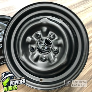 Powder Coated Steel Wheels