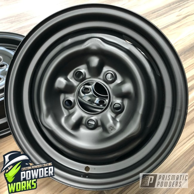 Powder Coating: Wheels,Automotive,BLACK JACK USS-1522,Steel Wheels