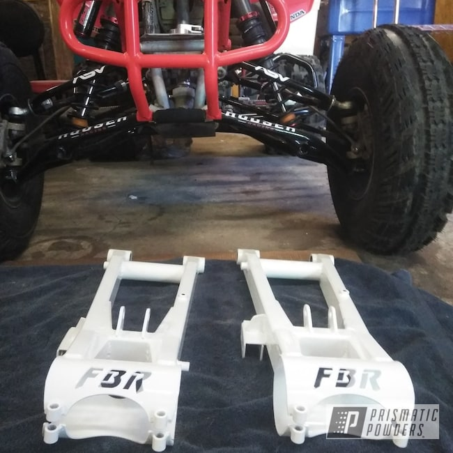 Powder Coating: ATV,Off-Road,Polar White PSS-5053,ATV Swingarm