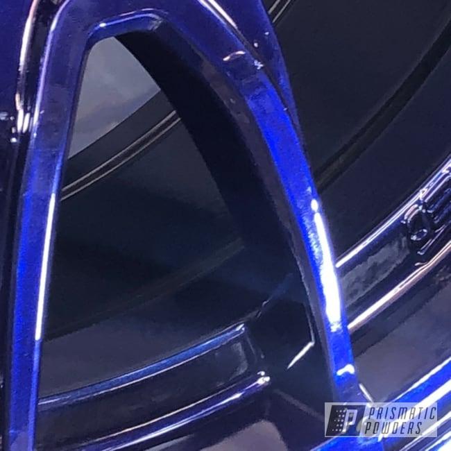 "Powder Coating: Wheels,Automotive,Mini Cooper,minijcw,Motec,LOLLYPOP BLUE UPS-2502,17"" Wheels,minicooper,Mini Cooper Wheels,Pro Red PMB-5201"