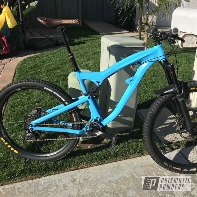 Powder Coating: Bicycles,Bike Frame,Foes,Playboy Blue PSS-1715,Mixer Enduro