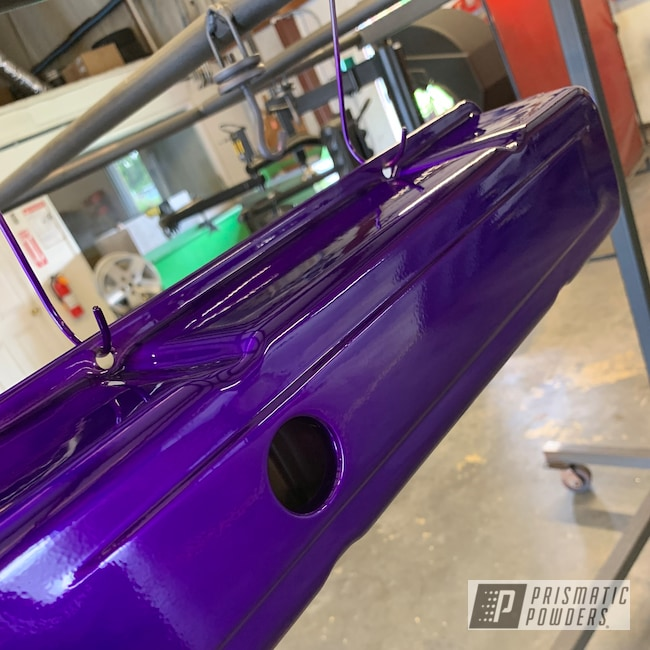 Powder Coating: Illusion Purple PSB-4629,Auto Parts,Automotive,Clear Vision PPS-2974,Valve Covers