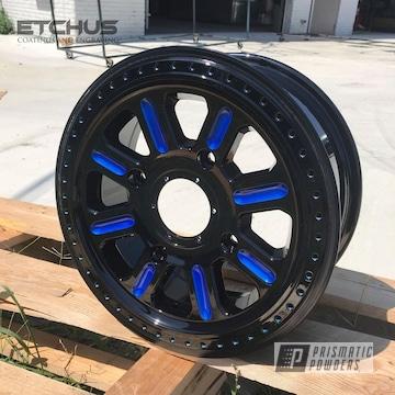 Powder Coated Two Tone Rzr Atv Wheels