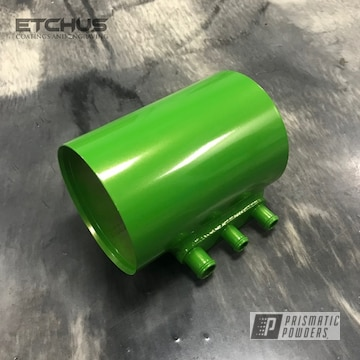 Powder Coated Subaru Oil Separator