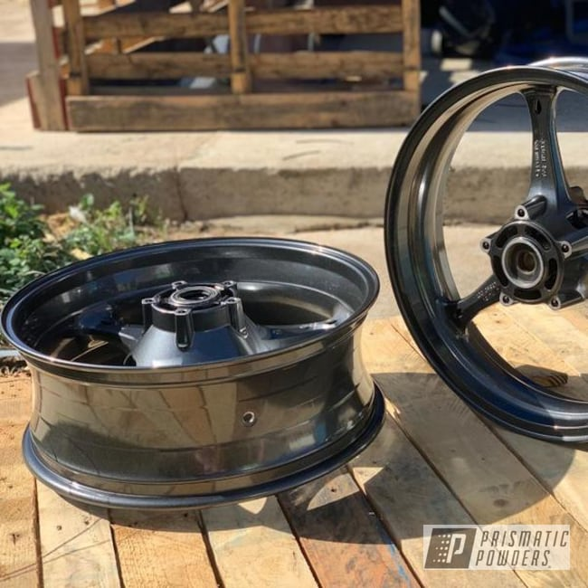 Powder Coated Gsxr 1000 Motorcycle Wheels