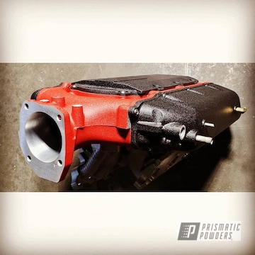 Powder Coated Acura Tl Intake Manifold