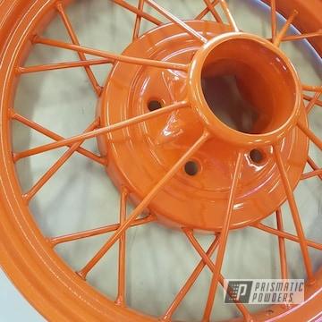 Powder Coated Model A Car Wheels