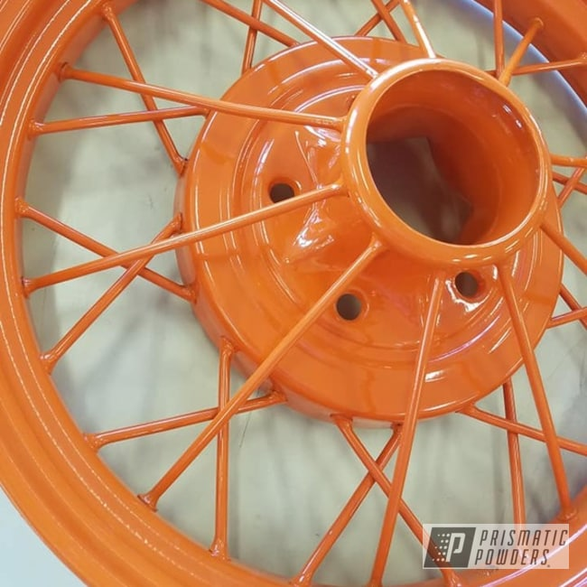 Powder Coated Model A Car Wheels