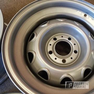 Powder Coated 15 Inch Steel Rims