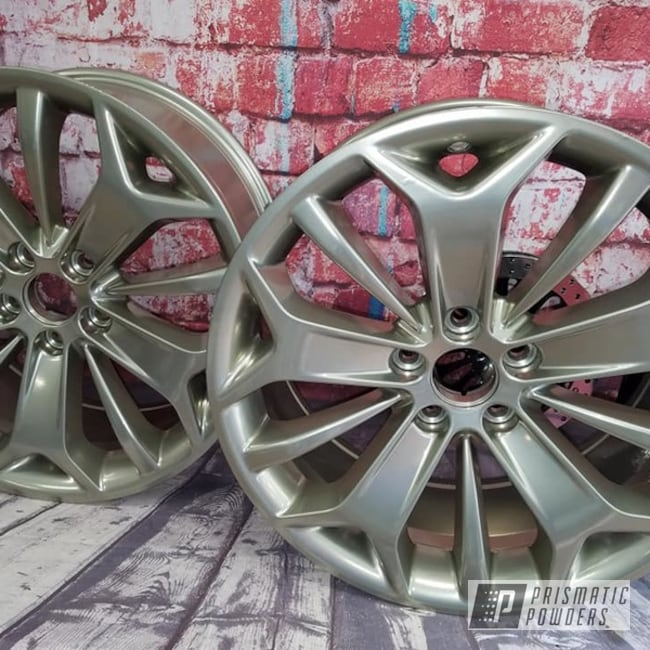 "Powder Coating: Wheels,19"",Automotive,Clear Vision PPS-2974,SUPER CHROME USS-4482,2 Stage Application,19"" Aluminum Rims"