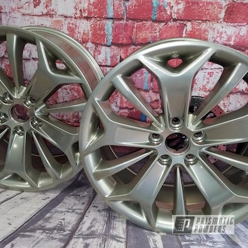Powder Coated 19 Inch Aluminum Rims