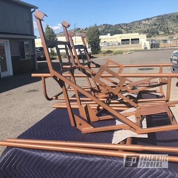 Powder Coated Hunting Game Cart Frame