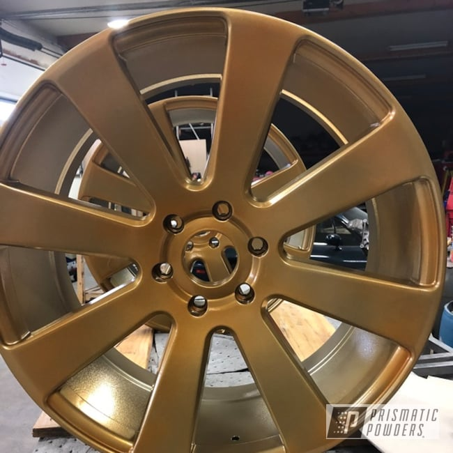 "Powder Coating: Wheels,19"",Dub Wheels,Automotive,SUPER CHROME USS-4482,22,Candy Gold PPB-2331,19"" Aluminum Rims"