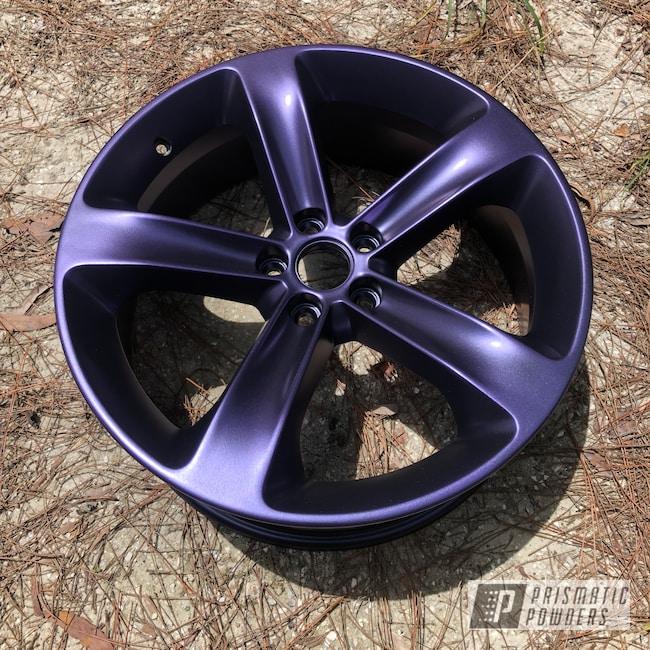 "Powder Coating: Wheels,Automotive,Dodge,20"",SOFT PURPLE UMB-0730,Challenger,20"" Wheel"