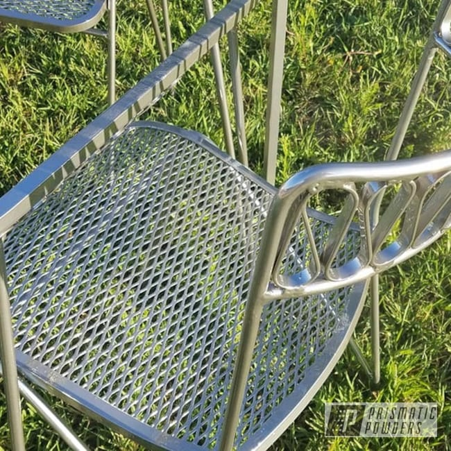 Powder Coating: Clear Vision PPS-2974,Custom Furniture,Chairs,2 Color Application,SUPER CHROME USS-4482,Table,Home Decor,Decorative Furniture,Furniture