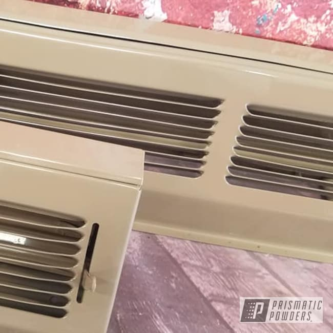 Powder Coating: Air Vents,GREY DAY PSS-4311,Heat Registers,Miscellaneous,Household