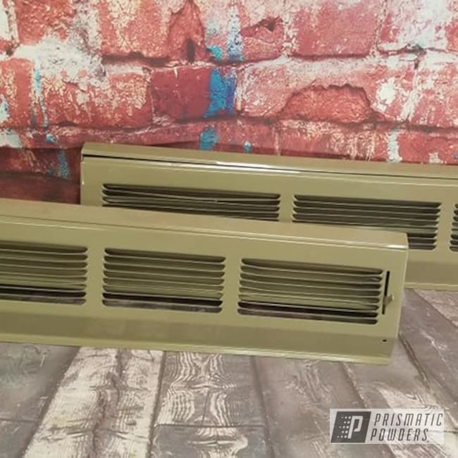 Powder Coated Custom Heat Register Vents