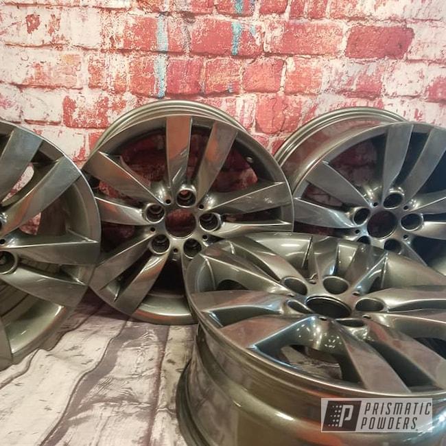 """Powder Coating: Wheels,Automotive,18"""",Kingsport Grey PMB-5027,18"""" Wheels,Aluminium Rims,18"""" Aluminum Wheels"""