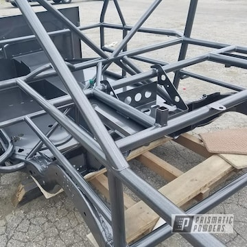 Powder Coated Race Car Chassis