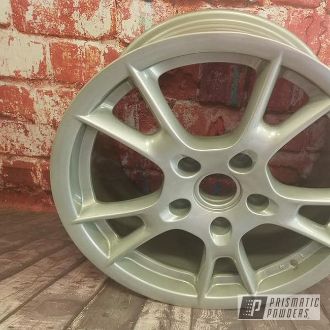 "Powder Coating: Wheels,Automotive,Clear Vision PPS-2974,18"",BMW Wheels,18"" Wheel,Alloy Silver PMS-4983,Aluminum Rim"