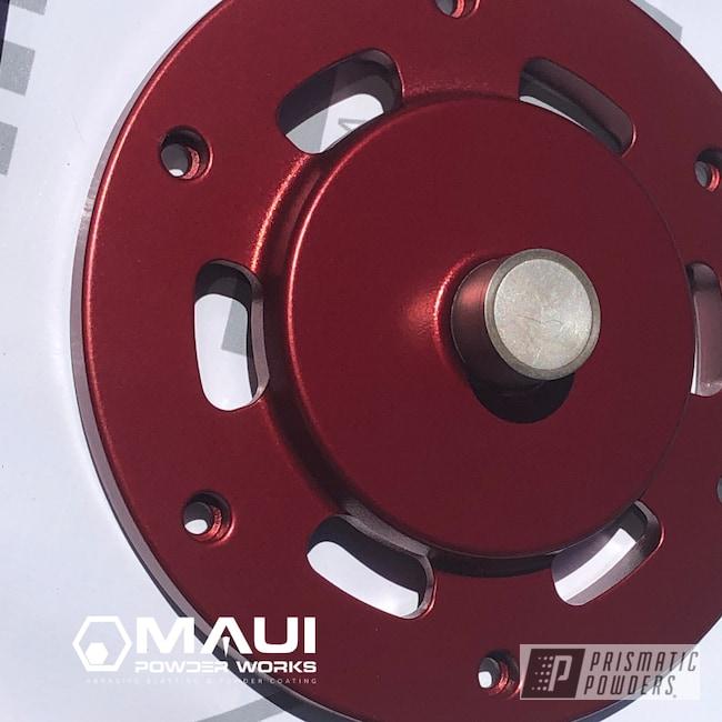 Powder Coating: Automotive,Turbo Housing,Garrett Turbo,Anodized Red PPB-5936,parts,Turbo