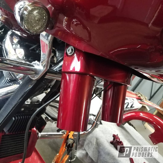 Powder Coating: Color Match,Harley Davidson,Clear Vision PPS-2974,Road glide,Illusion Cherry PMB-6905,Motorcycles