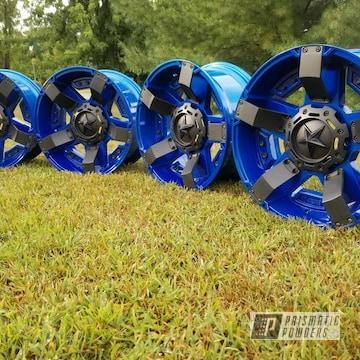 Powder Coated Two Toned Xd Rockstar Wheels
