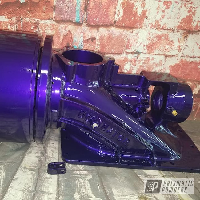 Powder Coating: Illusion Purple PSB-4629,Illusion Powder Coating,Clear Vision PPS-2974,Boat Parts,Jet Boat Pump