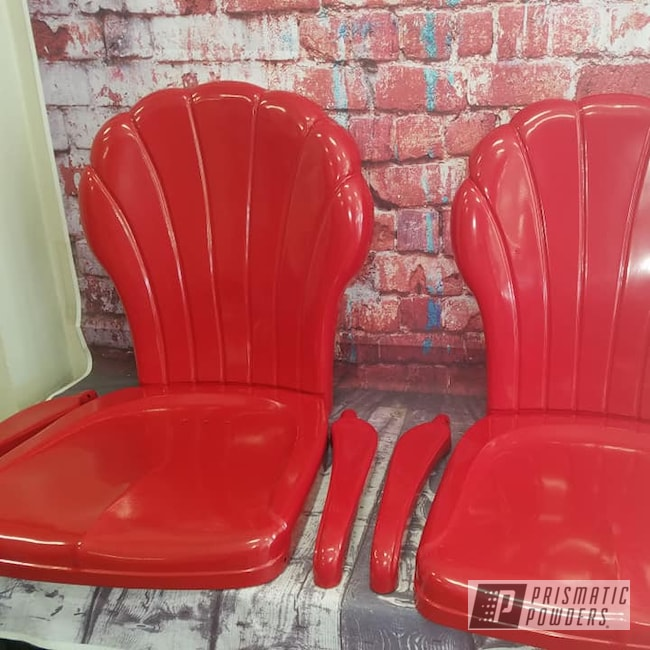 Powder Coating: Patio Chairs,Vintage Lawn Chairs,RAL 3002 RAL-3002,Decorative Furniture